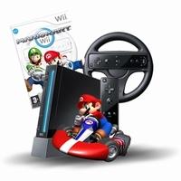 Zwarte Wii Pack Incl. 1000 GB Harddisk