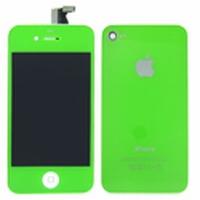 iPhone 4 Behuizing Incl. LCD Groen (voor en achterkant)