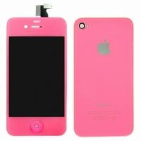 iPhone 4 Behuizing Incl. LCD Roze (voor en achterkant)