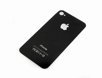 iPhone 4S Back Cover Zwart.
